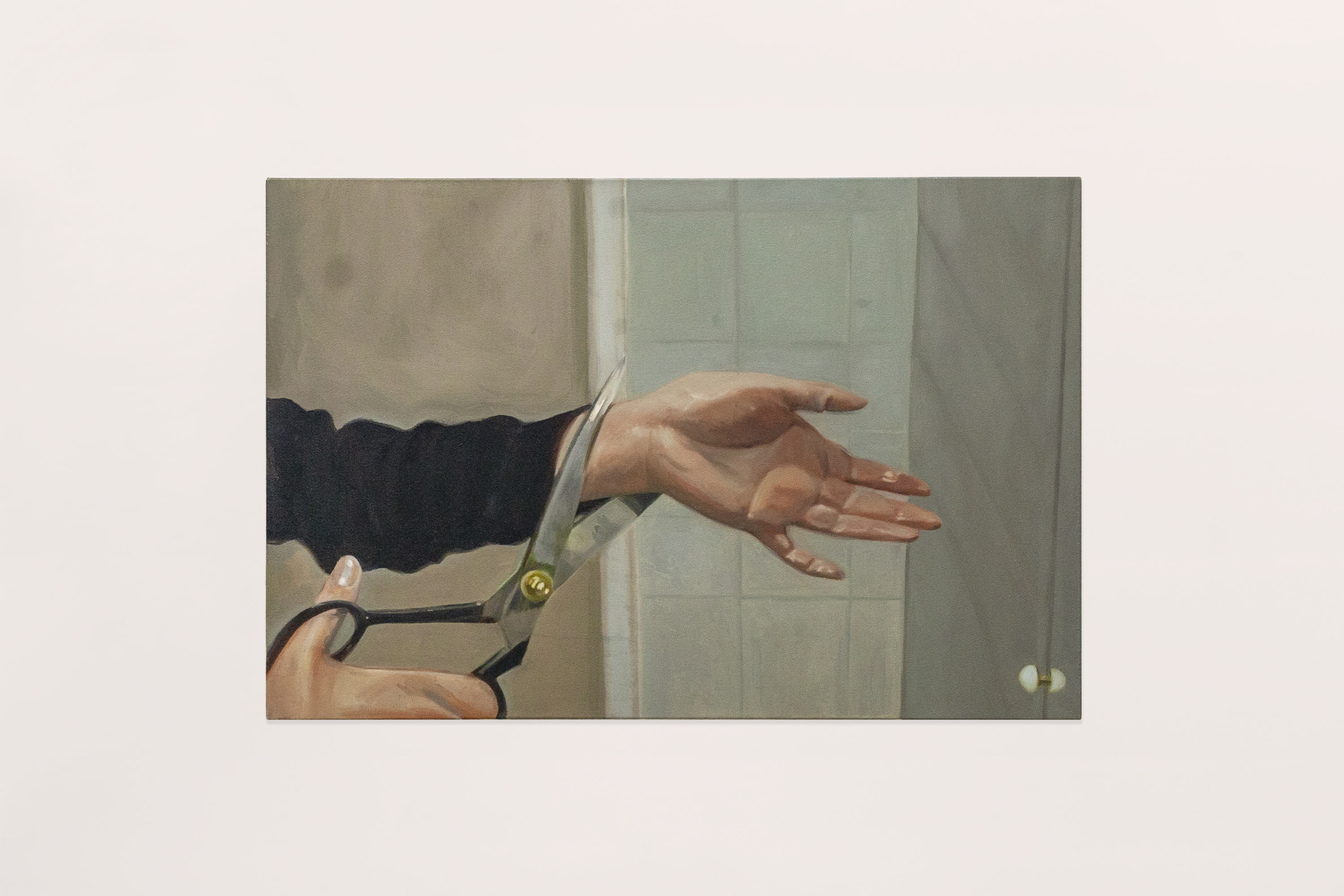<p>If My Hand Offends</p>